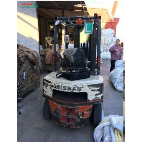 Nissan FJ02A25U 2500kg 4750mm